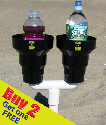 Beach Cup Holder, Double