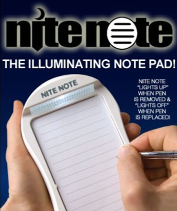 Nite Note with Space Pen