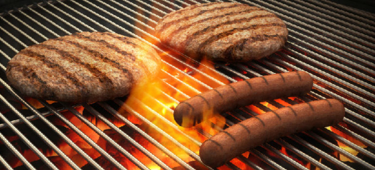 clean barbecue grill with the Grill Gadget