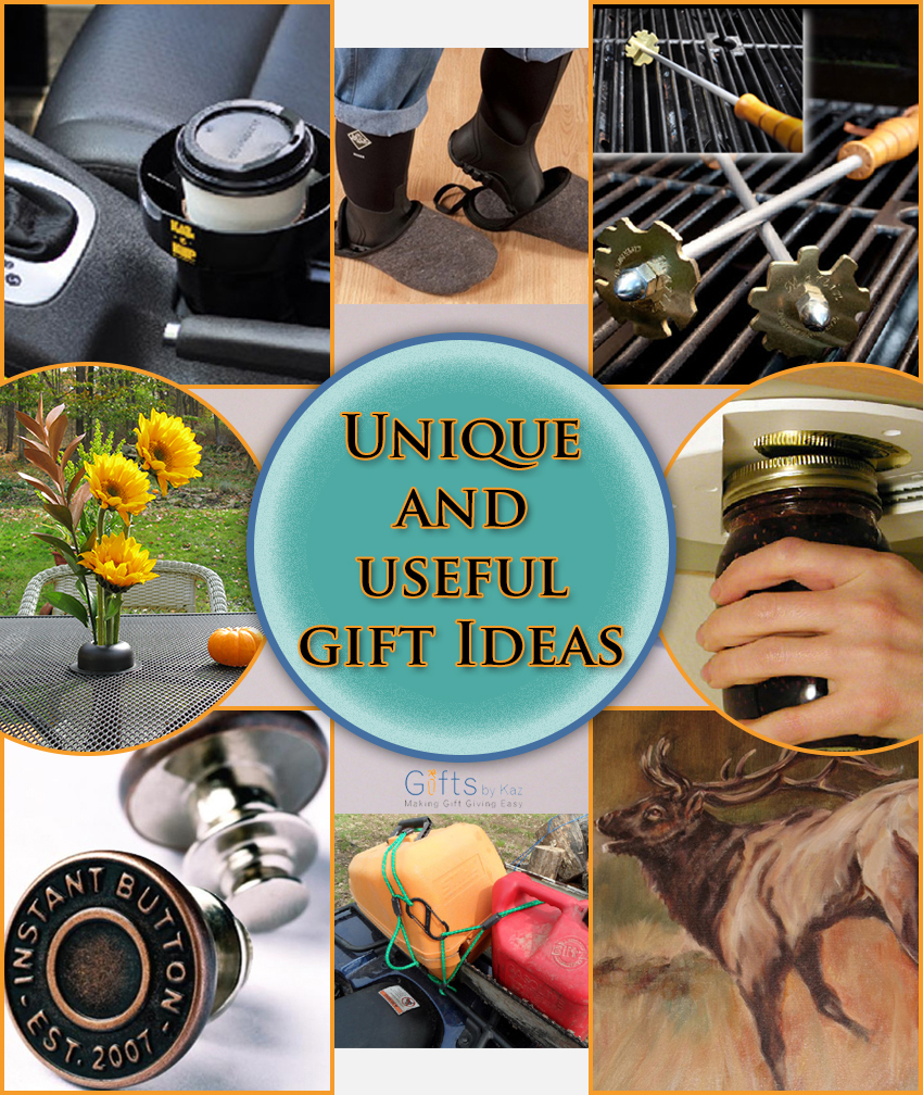 Unique and useful gift ideas