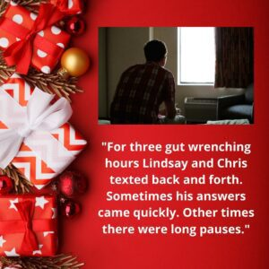 Quote about lindsay and Chris story on suicide