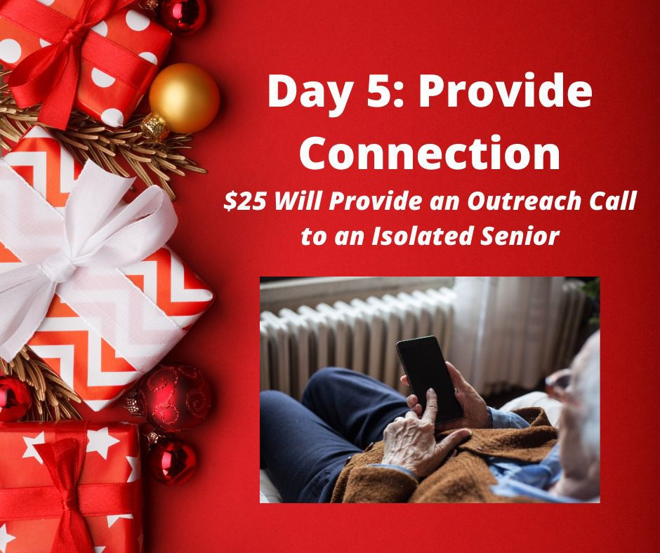 Day 5 of 12 days of giving and receiving from CMHA
