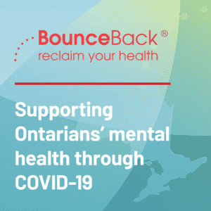 bounceback reclaim your health poster with quick tips to support your mental health during covid-19