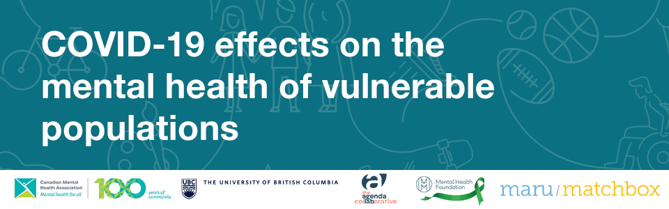 COVID-19 Effects the Mental Health of Vulnerable Populations