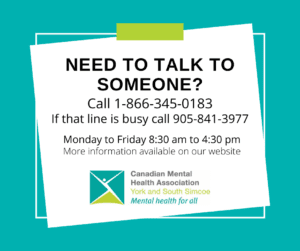 need to talk to someone poster, covid-19 mental health resources