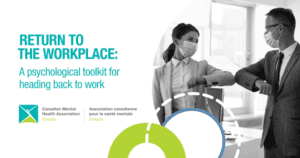 return to the workplace, psychological toolkit to head back to work