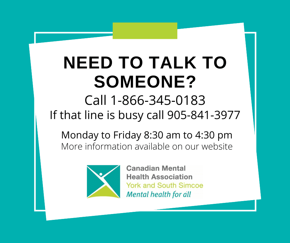 poster for need to talk to someone you can call 1-866-345-0183