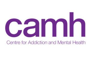 Centre for Addiction and Mental Health logo, purple