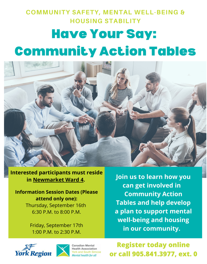 Community Action Tables Newmarket