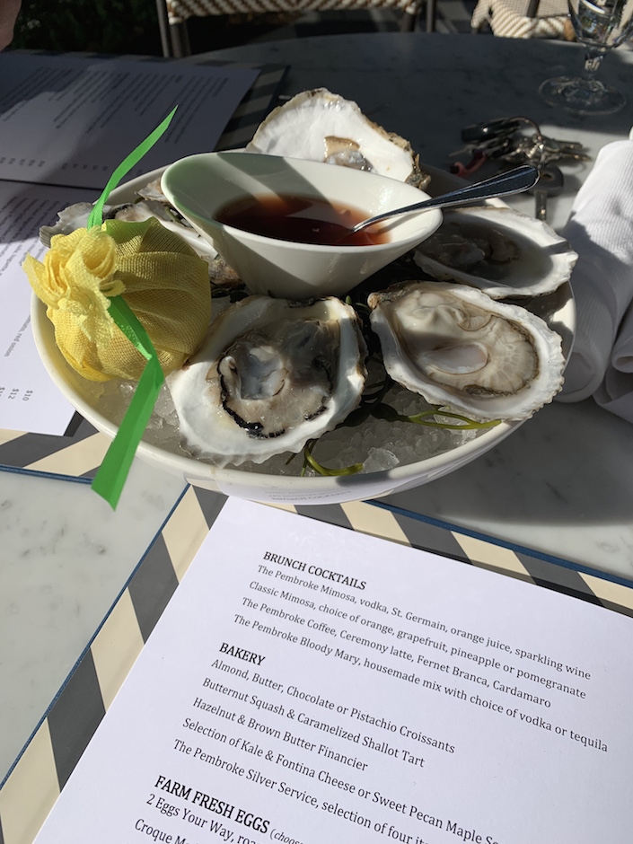The Pembroke Oysters