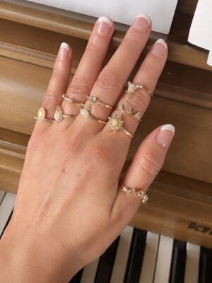 OnePosh boho Ring set