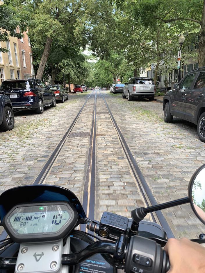 Georgetown Cobblestone Streets