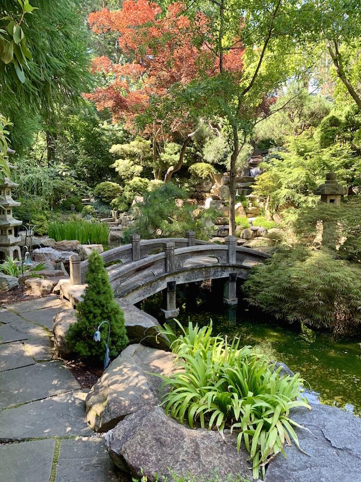 Hillwood estate Japanese-style gardens