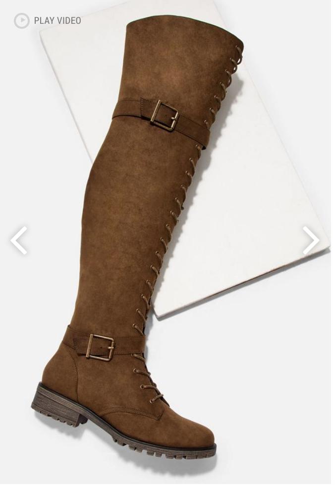 JustFab fall boots