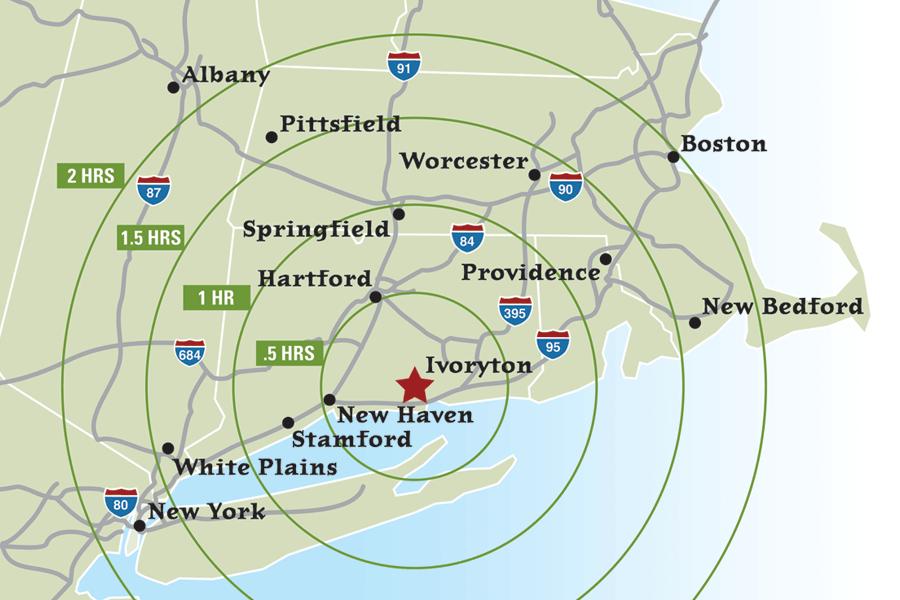 Locator map