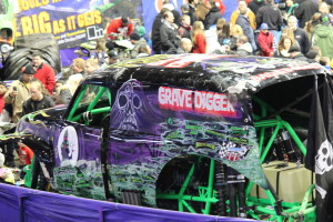Grave Digger at the Pit Party