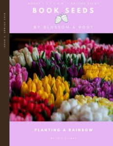 book seeds by blossom and root spring 2018: planting a rainbow