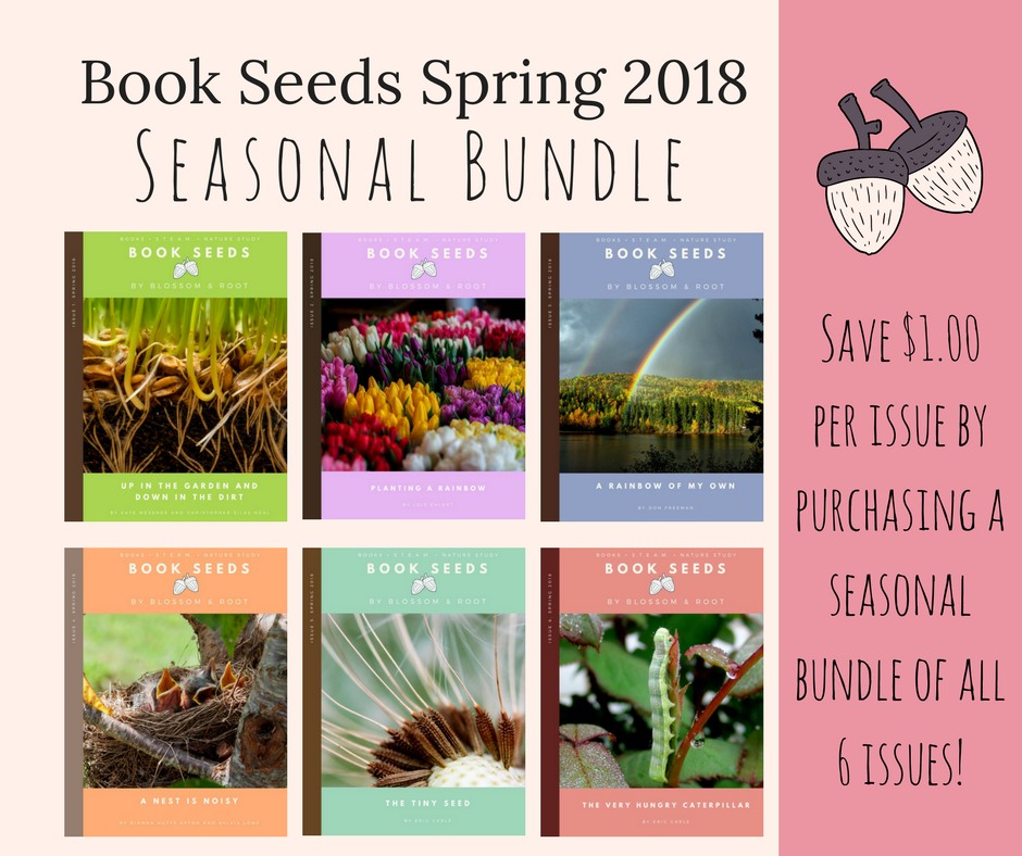 book seeds spring 2018 seasonal bundle