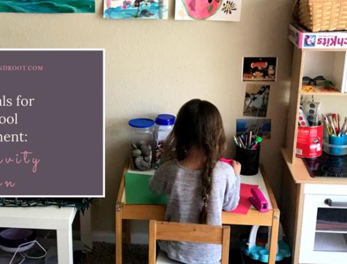 homeschool essentials for creativity