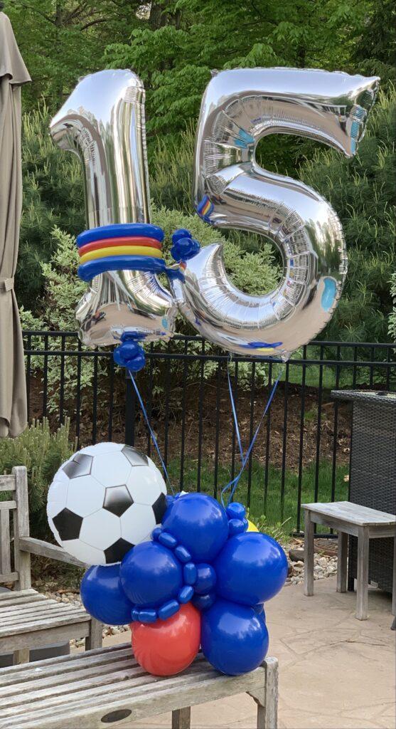 #15 soccer display