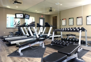 Fitness Room in apartments
