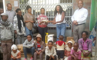 St. Peter Specialized Hospital showed its solidarity to our society