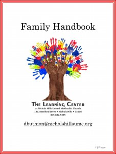 Family Handbook 2015 Cover