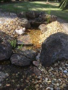DIY Garden Stream