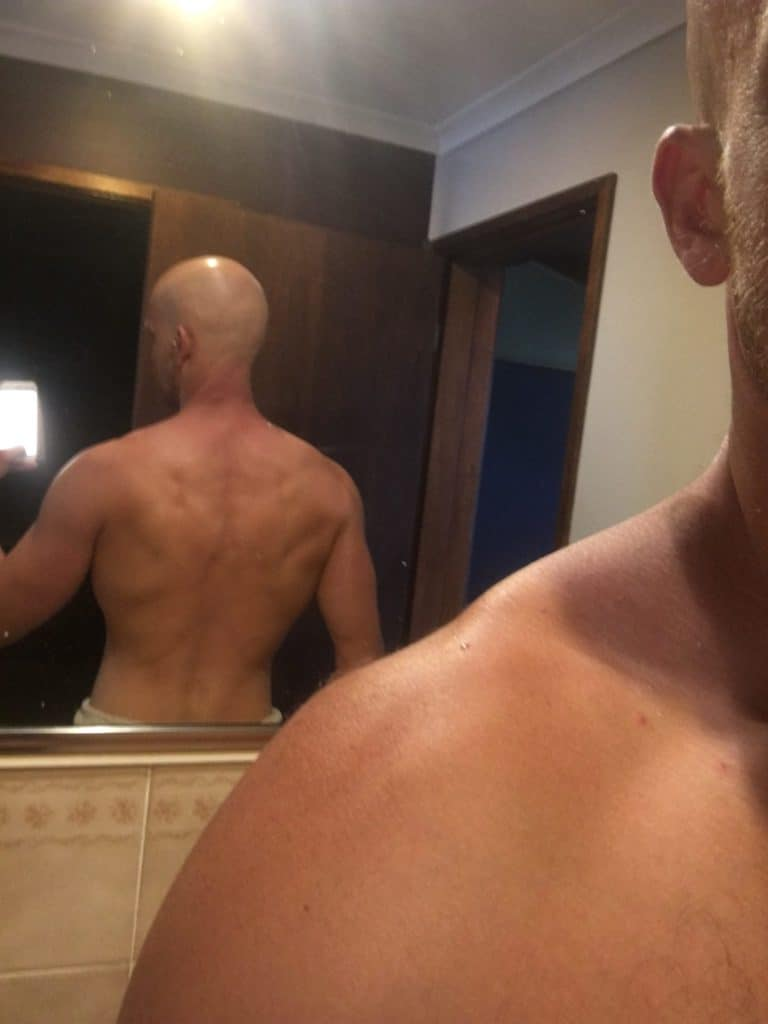 Kev's Back Building muscle