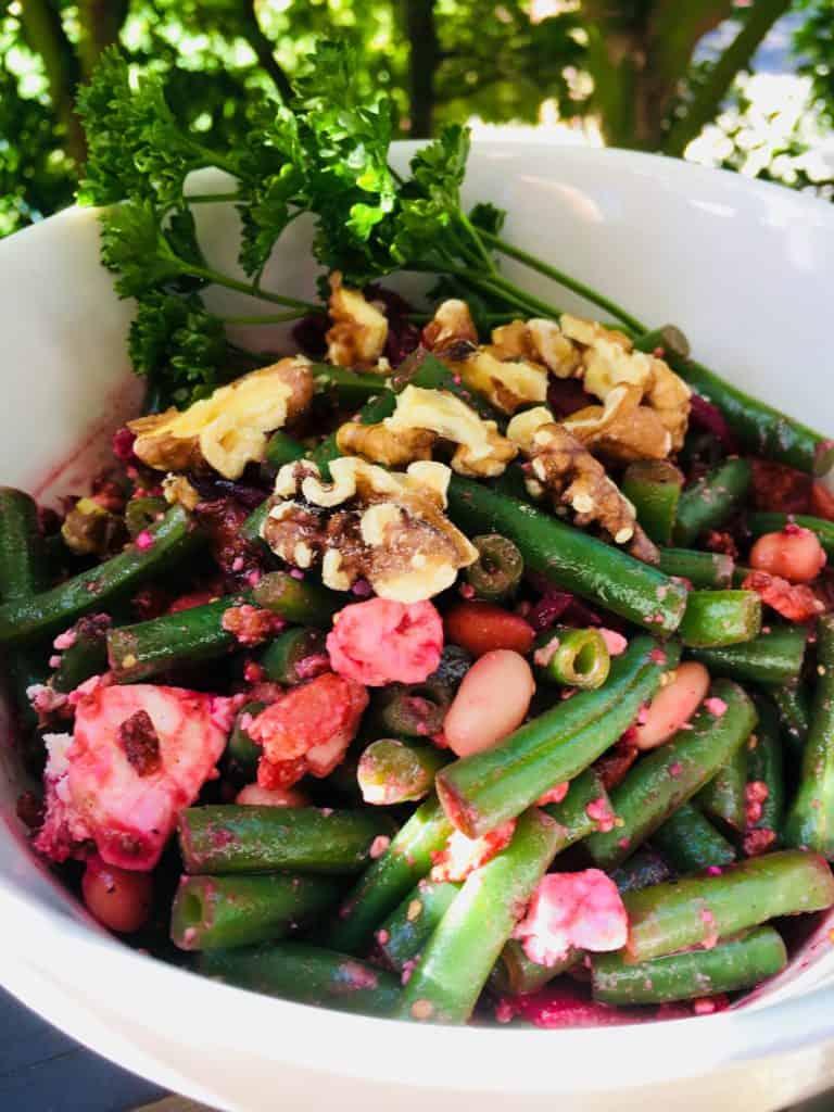 Warm Bean Salad