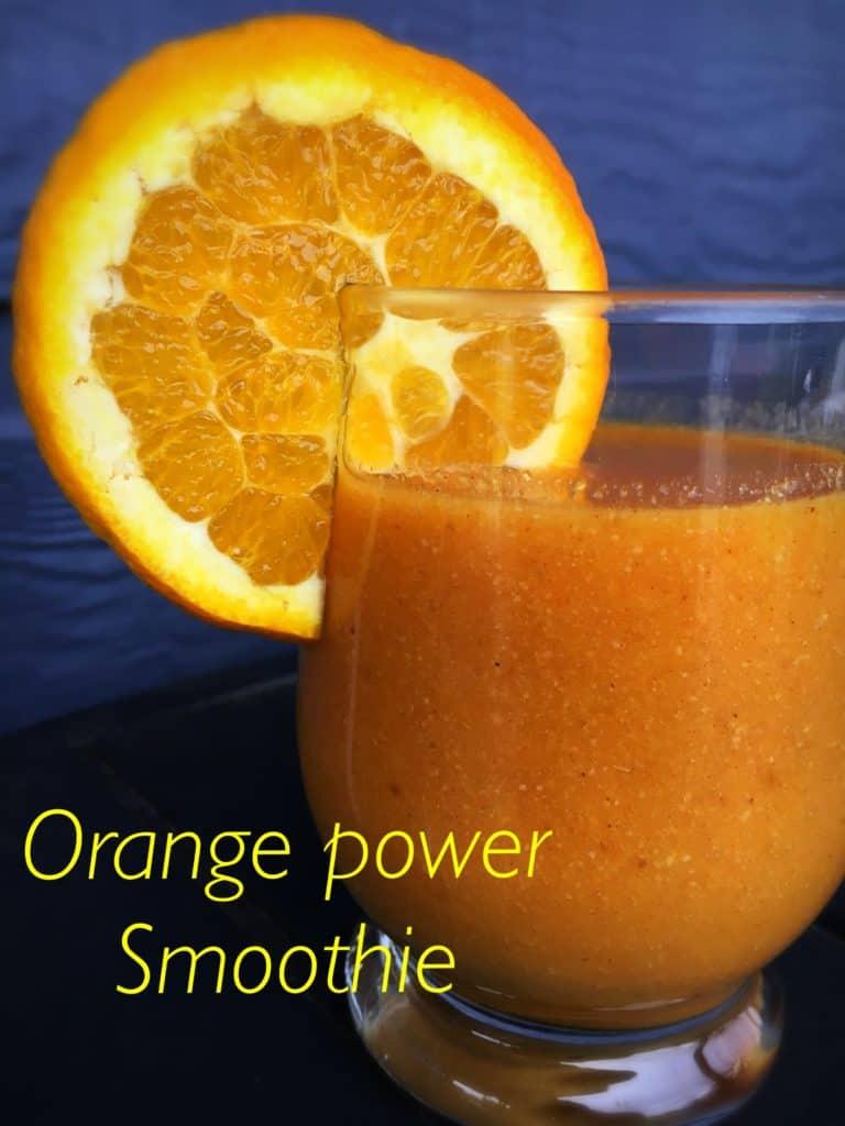 Orange Power Smoothie