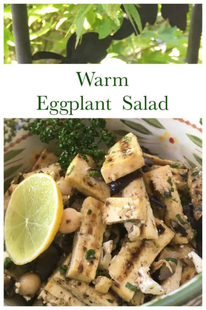Warm Eggplant Salad