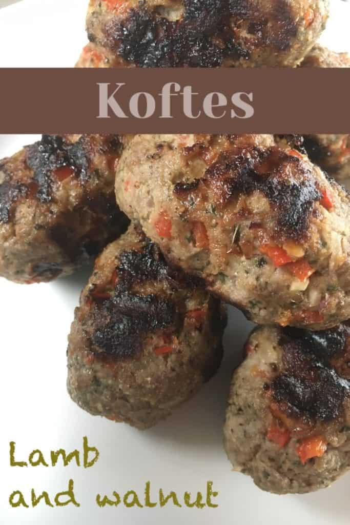Lamb and Walnut Koftes