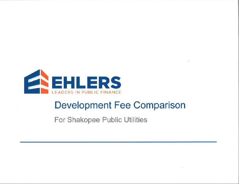 Ehlers Report Cover