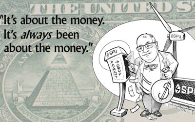 It's about the money. It's always been about the money.