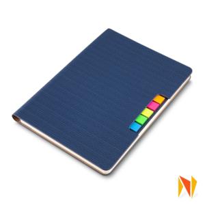 Caderno com Autoadesivos