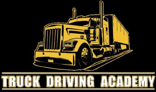 truck driving academy logo