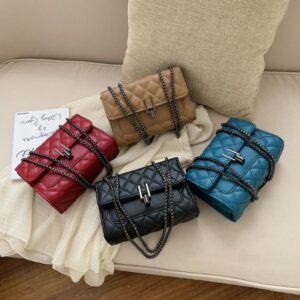 Small Leather Crossbody Bags for Women Women's Branded Shoulder Handbags Lady Purse
