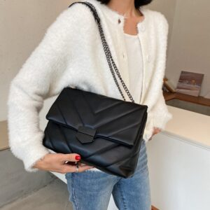 Ladies Hand Bags High Quality Leather Shoulder Bag New Casual Brand Crossbody Bags For Women