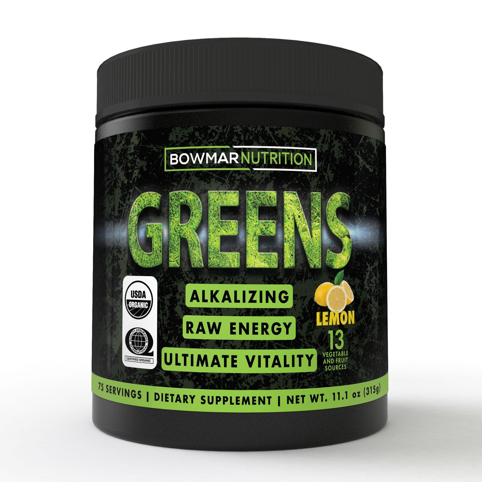 bowmar nutrition greens powder