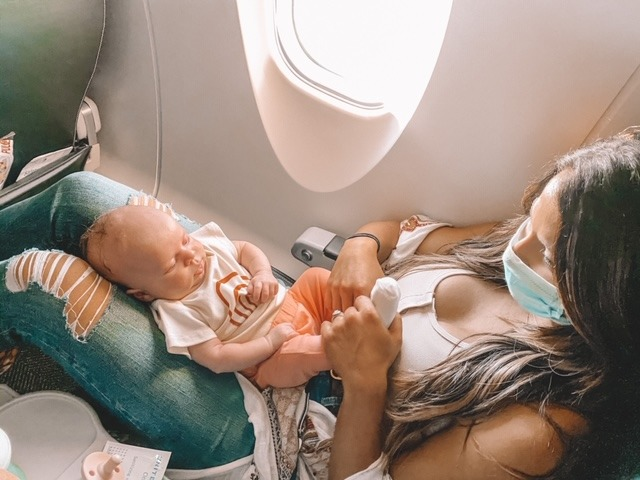 traveling with a newborn
