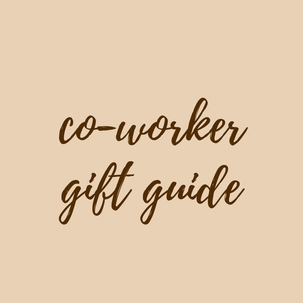 co worker gift guide