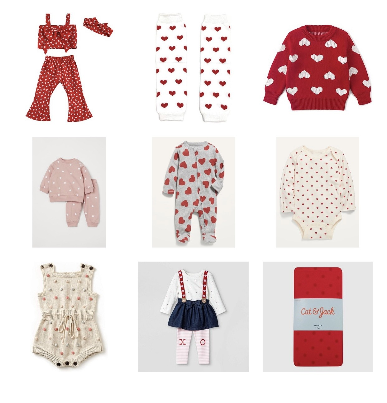 baby girl valentine's outfits