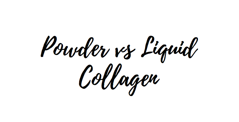 powder versus liquid collagen