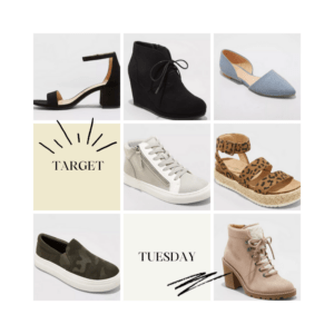 sarah bowmar target tuesday shoe sale