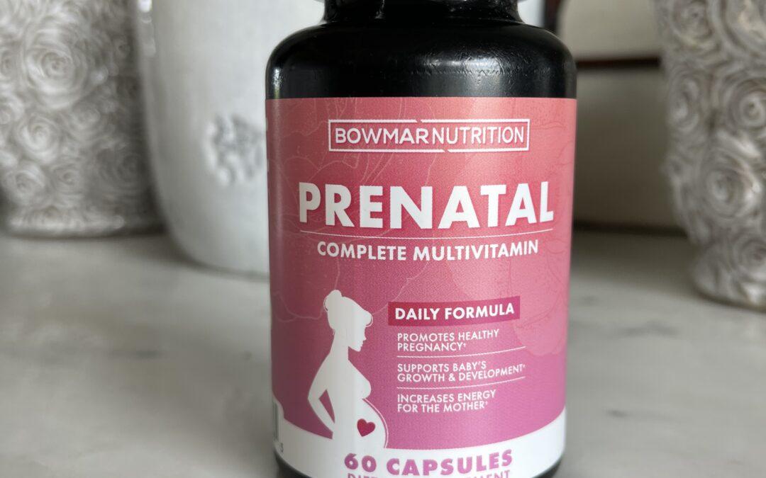 Bowmar Nutrition Prenatal