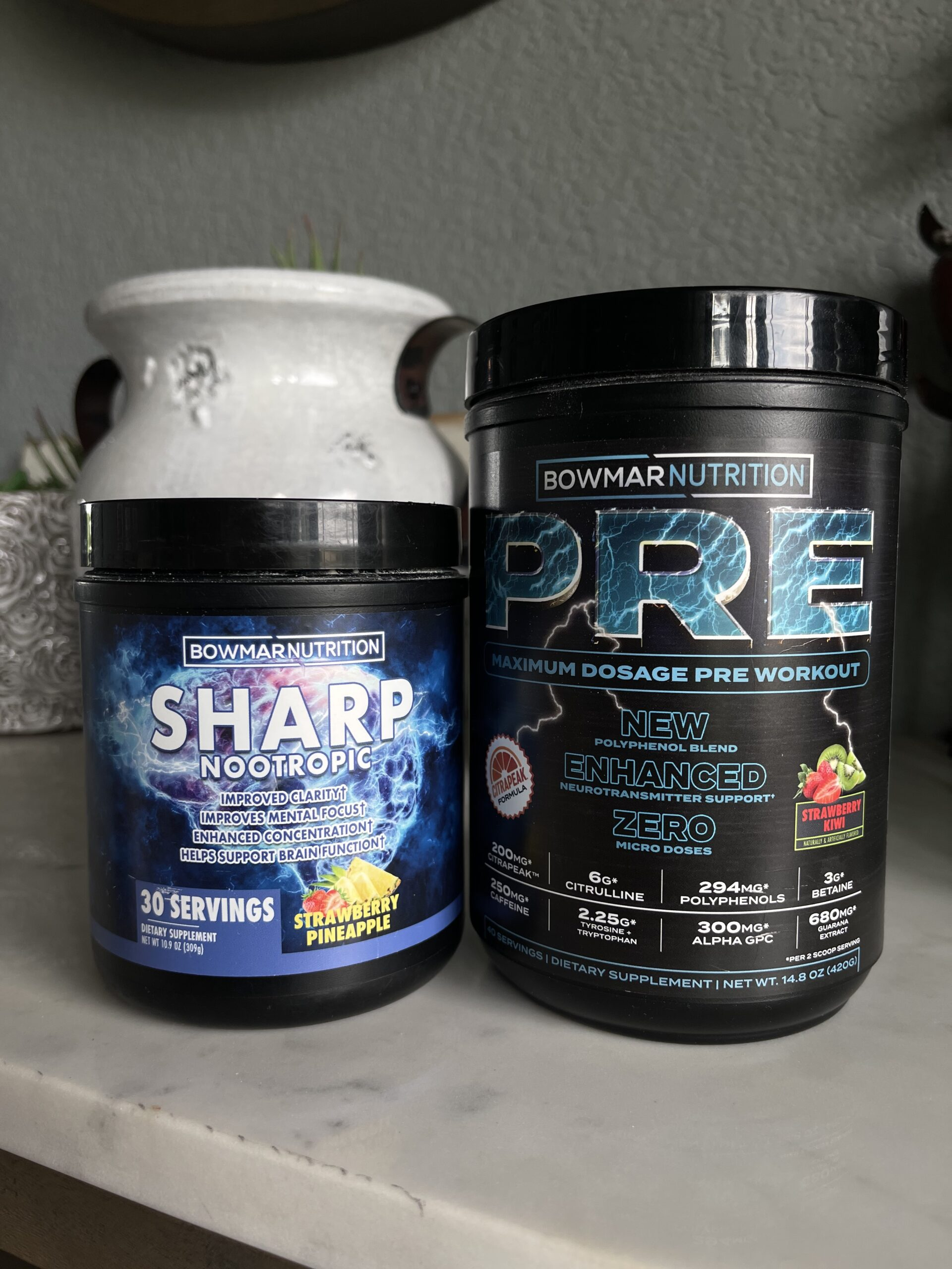 sarah bowmar pre versus sharp