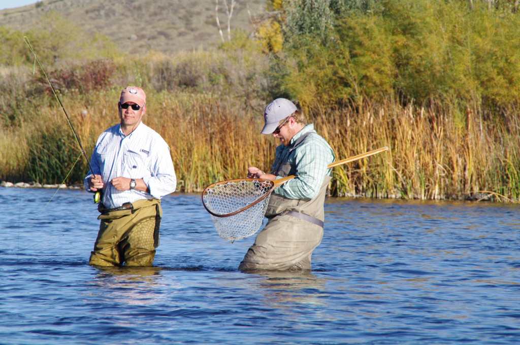 Wading trips in Yellowstone Park, Montana