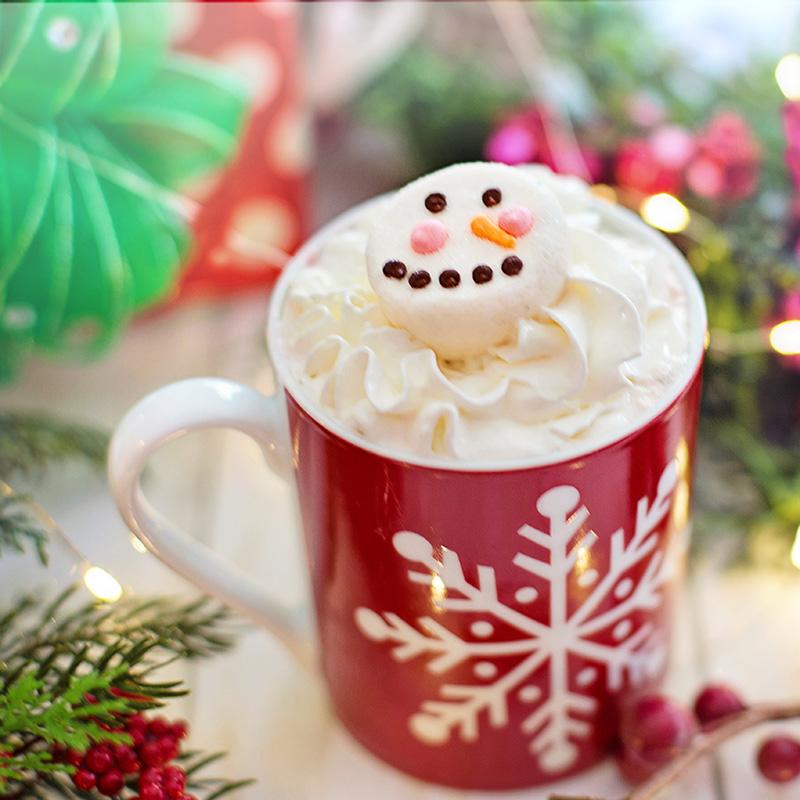 Snowman Hot cocoa