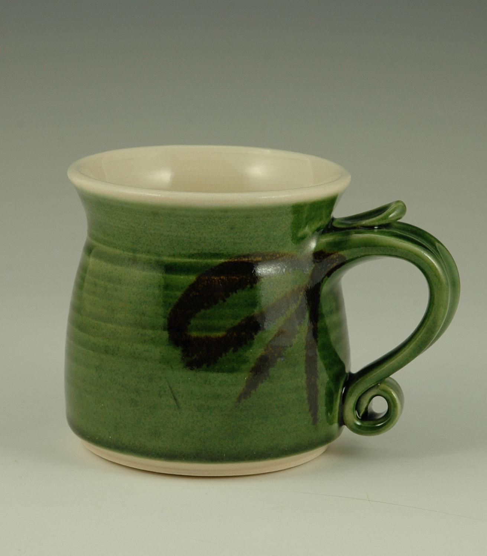 Mug, Porcelain, 3″H, 3/5″D